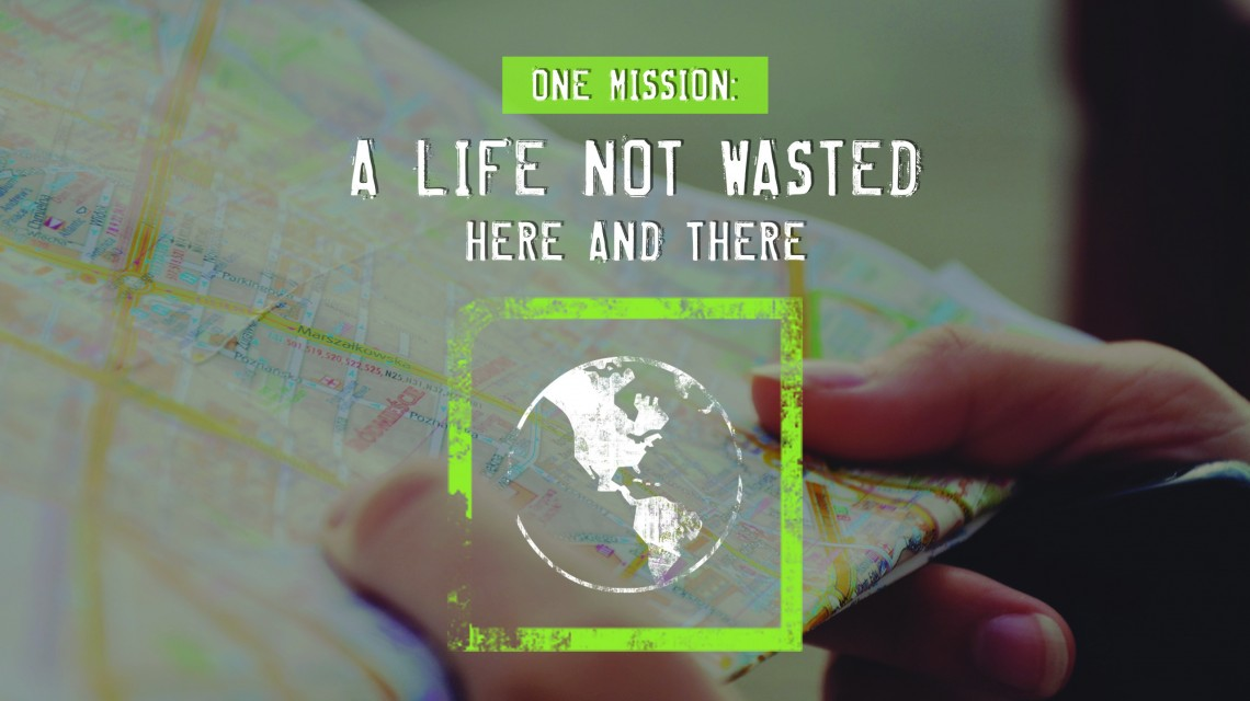 ONE Mission: Here and There