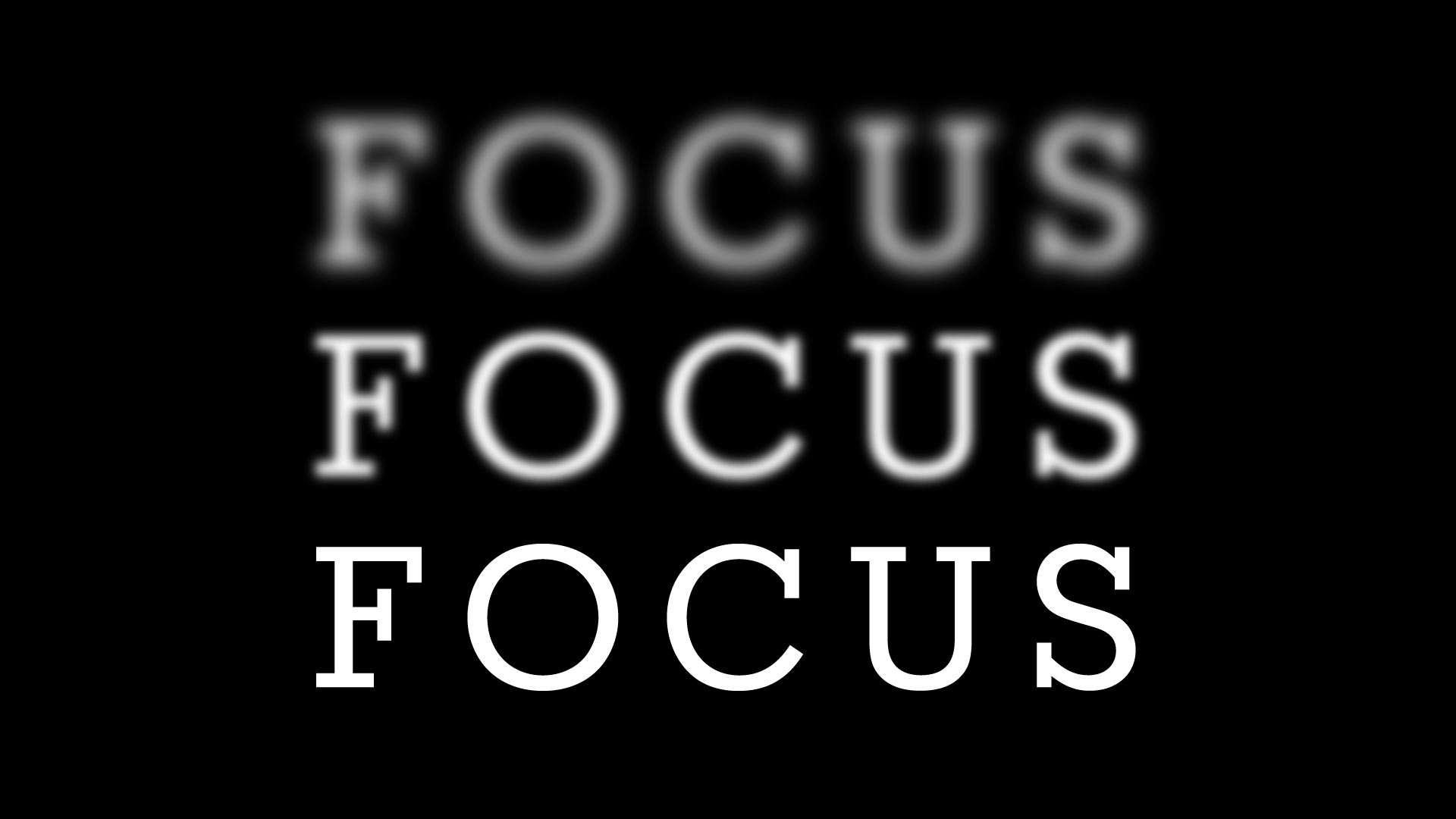 FOCUS - Them Not Us